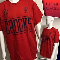 CROOKS & CASTLES crewneck collar tees  Winnipeg, R2J