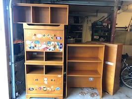 Pottery Barn Bookcase and drawers