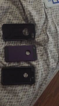 black iPhone 5 with case Nanaimo, V9R 6H6