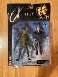 THE X FILES AGENT SCULLY ACTION FIGURE  Union, 07083