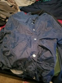 blue and gray button-up shirt Upland, 91786