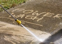 Power washing, gutter clean, repair and paint Gaithersburg
