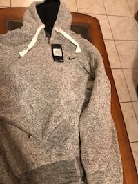gray and black pullover hoodie Medford, 02155