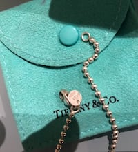 Vendo collana tiffany & co argento 6809 km