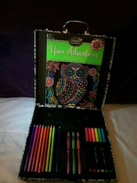 Neon coloring set and book  Owings Mills, 21117
