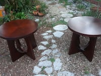 Two solid coffee tables 896 mi