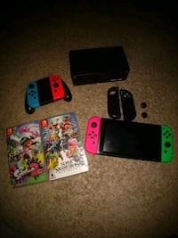 Nintendo Switch with two games  Tampa, 33637