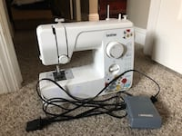 white Singer electric sewing machine Rocklin, 95677