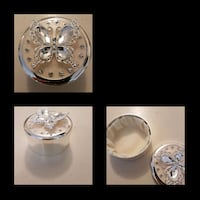 Sterling silver trinket jar Whitby, L1N 8X2