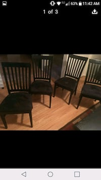 two brown wooden windsor chairs Hixson, 37343