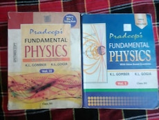 Pradeep's physics textbook of class 12