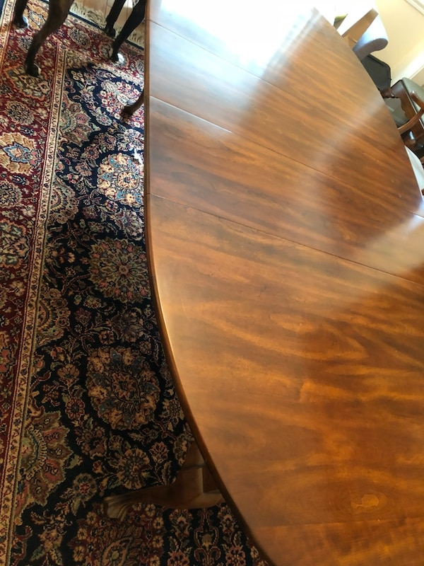 Statton Solid Cherrywood Dining Room Table + 6 Chairs