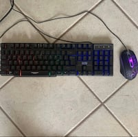 Hornet keyboard and mouse