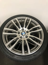 2017 BMW M-Sport Rims 19 inches