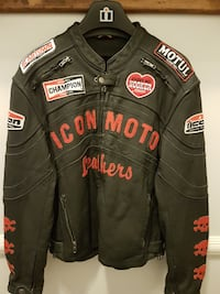 Motorcycle Leather jacket for men MONTREAL