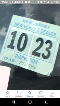NJ dealer certificate 2023 brand new