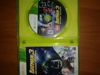 Xbox 360 Lego batman game discs Squamish, V8B 0R6