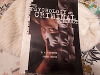 Psychology of Crimial conduct-text book Chilliwack, V2R 0E7