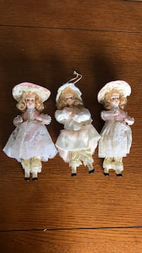 Porcelain doll Christmas tree Ornaments-3