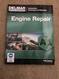 "Delmar ASE Test Prep Book ""Engine Repair"" Falls Church, 22046"