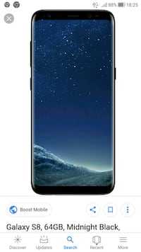 screenshot di Samsung Galaxy S8 nero Carpenedolo, 25013