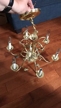Classical brass dining room Chandelier Toronto, M4C 3Z7