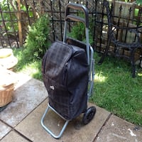 Insulated shopping cart on wheels with seat Mississauga, L5J 1V6