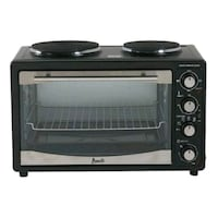 black and gray toaster oven 56 km