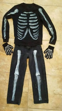 Skeleton Costume, size 10/12 Rio Rancho