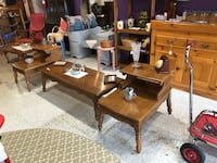 Solid maple coffee table and Pr of matching end tables Frederick, 21701