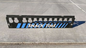 Snack time coin mech vending machine cover