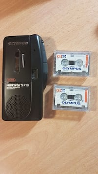 Olympus voice recorder and tapes. OBO. Toronto, M9B 4J9