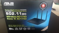 Asus Dual-Band wireless router box New Westminster, V3M 5K5