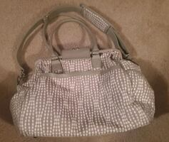 Waverly diaper bag w/matching wallet