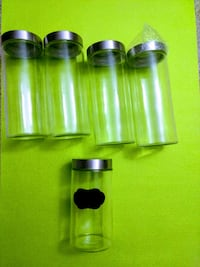 Large Glass Canisters
