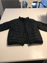 black zip-up bubble jacket Woodbridge, 22191