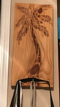 Custom handcarved palm tree