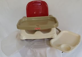 Fisher-Price Deluxe Booster Travel Seat.