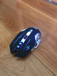 USB Wireless Rechargable Optical Gaming Mouse (2.4GHz) Highlands East, K0L