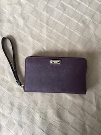 Plum colour Michael Kors wallet Burlington