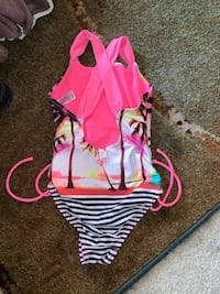 Little girl's swimsuit.