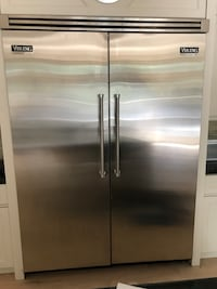stainless steel side-by-side refrigerator Toronto, M9A 2W6