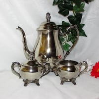 Vintage Rogers Silverplate Tea Set Elegant Mississauga