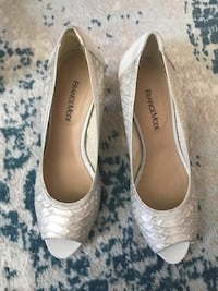 White high heel shoes 7