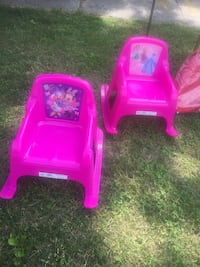 two pink plastic rocking armchairs Damascus, 20872