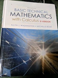 Basic technical mathematics with Celsius  Calgary, T1Y 7G8