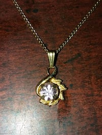 12K Gold Amethyst Floral Necklace Nampa, 83687