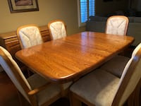 Dining room set and matching buffet Las Vegas, 89117