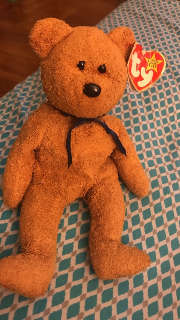 83331021d5b Used Rare 1998 Fuzz the Bear Ty Beanie Baby for sale in Yonkers - letgo