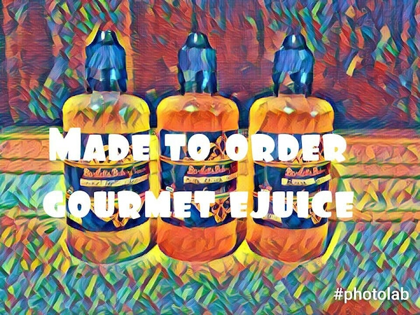 Made to order ejuice eliquid vape juice 0 to 12mg